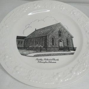 Commemorative Souvenir Plate Methodist Church